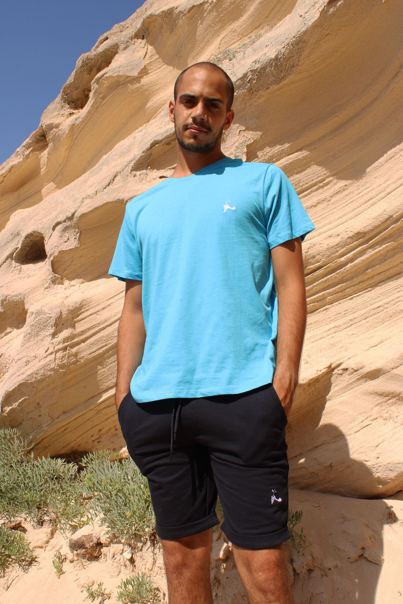 Camiseta pantalón insula algodón