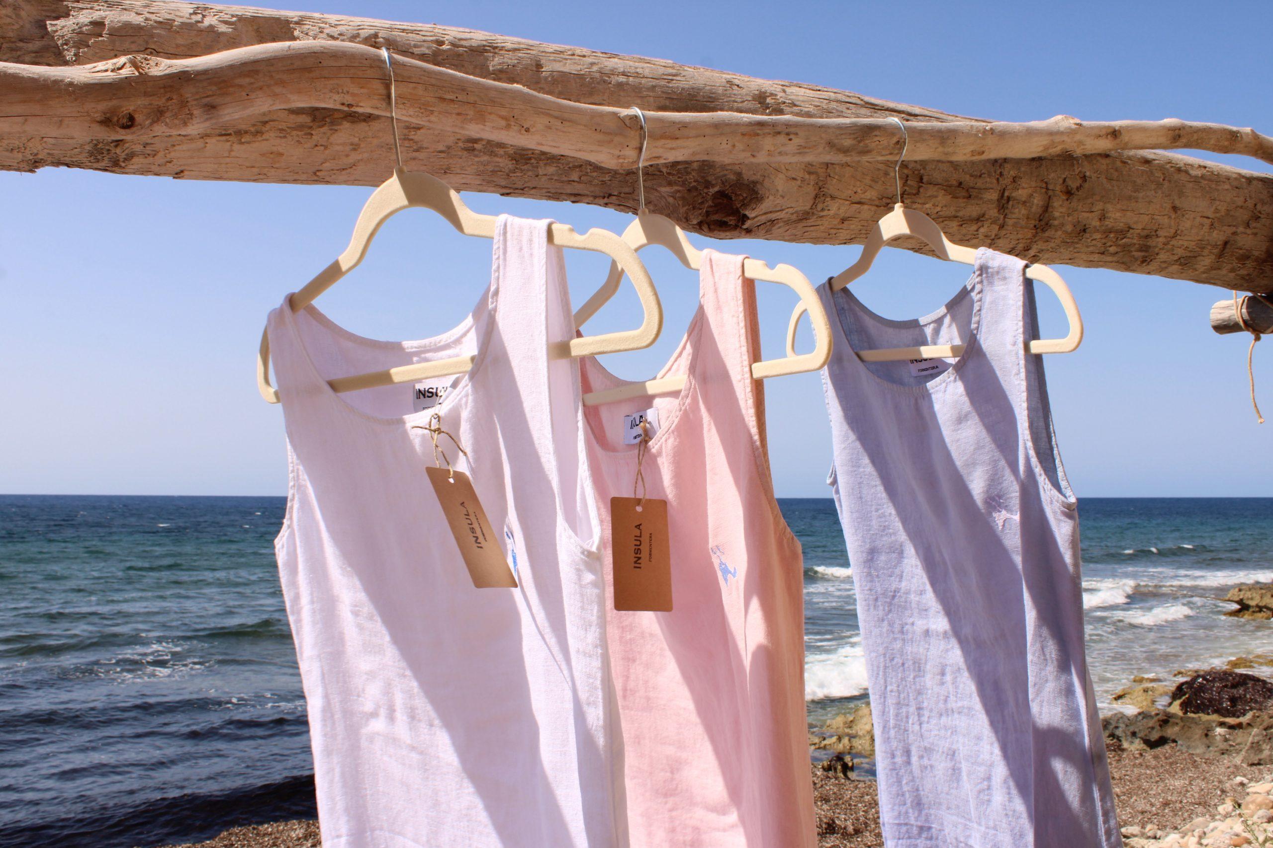 Vestidos insula lino